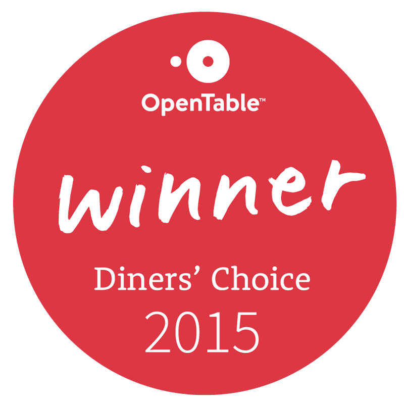 Diner's Choice Winner!